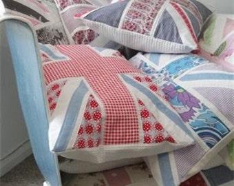 Custom Made Union Jack Cushion Throw Pillow