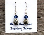 Bali and Blue Earrings
