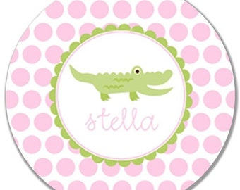 Personalized Melamine Plate