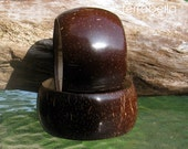 Coconut Wood Bangle Size M- Organic Jewelry