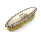 please pass me the brush  ...  vintage sterling silver brush