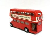 anyone for a spin around town  ...    vintage toy bus  ...   hamleys england - timelesssdesign