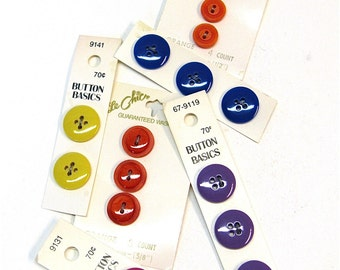 button me up  ...   colorful vintage button collection