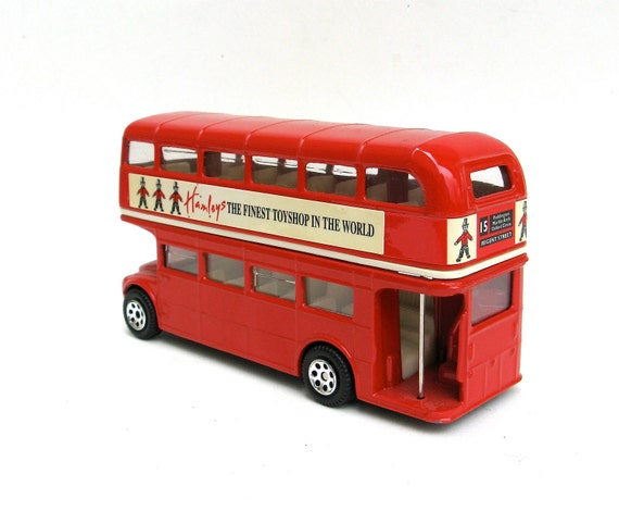 anyone for a spin around town  ...    vintage toy bus  ...   hamleys england