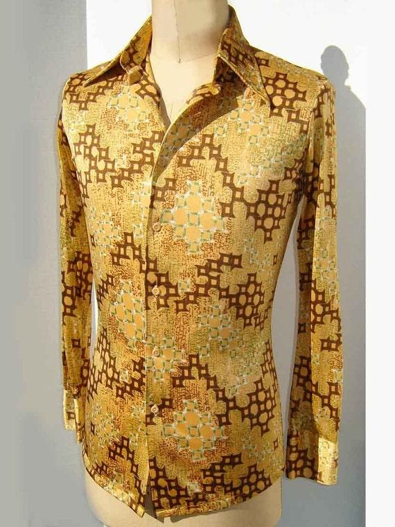 Mens 70s Disco Shirts