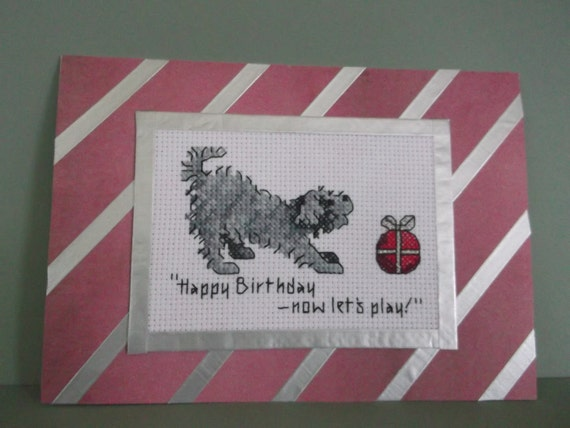 Happy Birthday Card for a Dog Lover