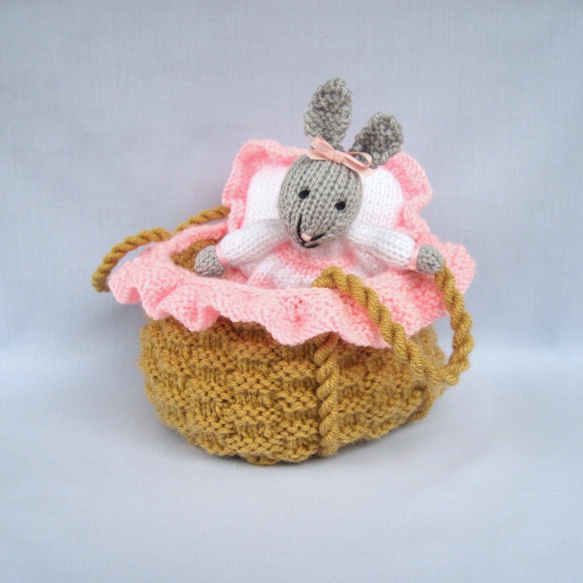 Knitting Toys In The Round : New toy rabbit pattern free doll