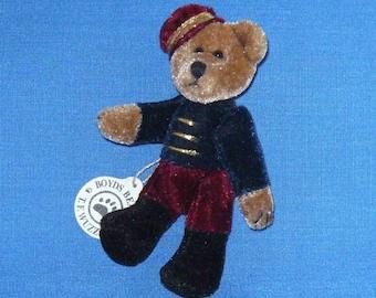 Timothy F. Wuzzie Miniature Movable Teddy Bear by Boyd's Bears