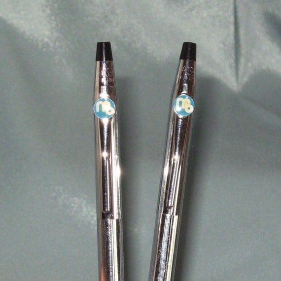 Classic Century Chrome Cross Pen and Pencil Set with MB Logo