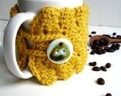 Honney Yellow Mug / Cup Cozy