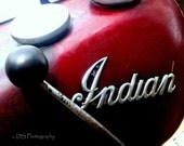 Indian Motorcycle Tank Note Card