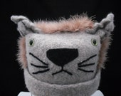 Felted Lion Hat