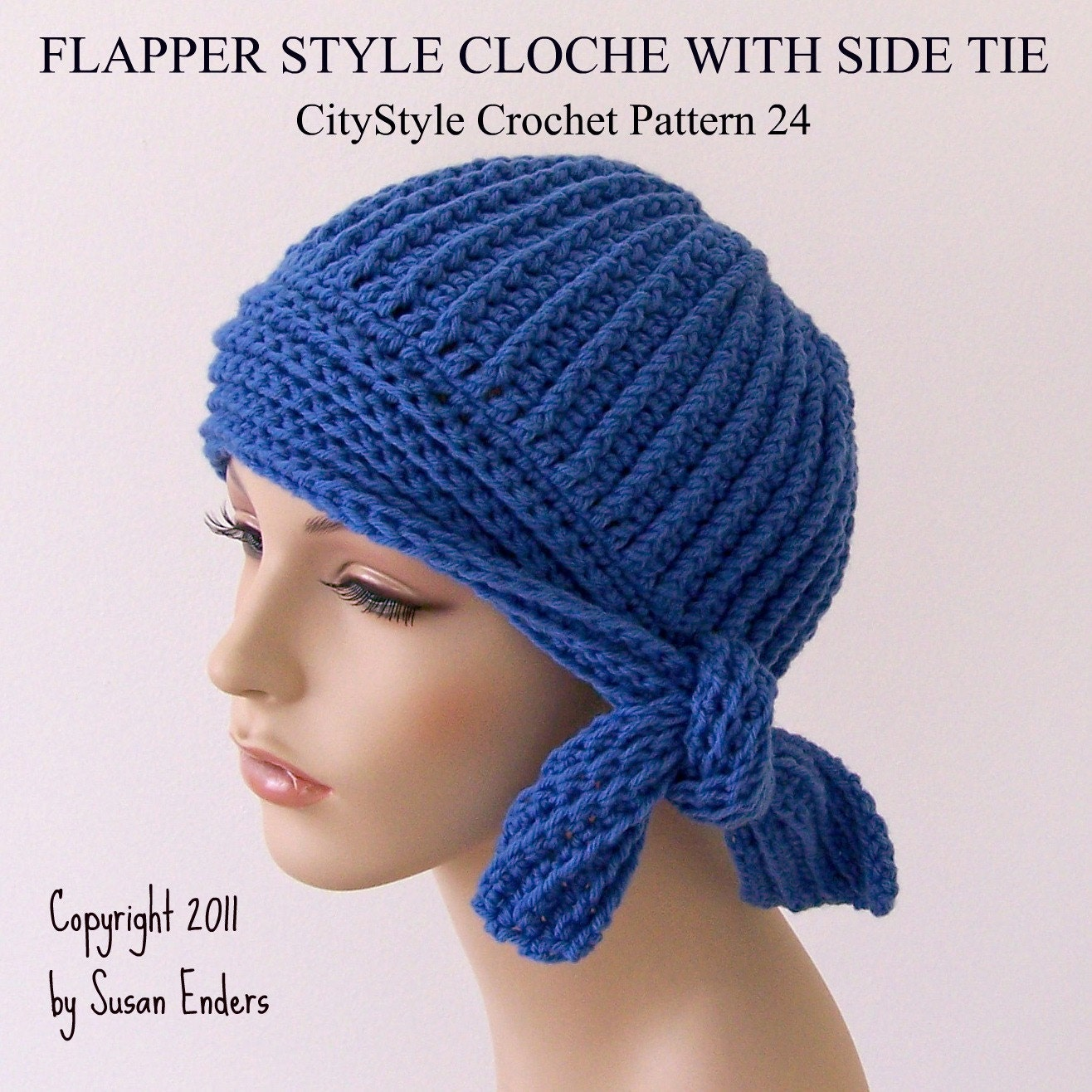 Crochet Hat Pattern For Women Crochet Pattern Hat Flapper