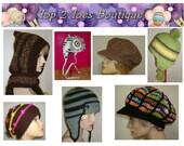 Any 3 of My Crochet Patterns - 10 Dollars