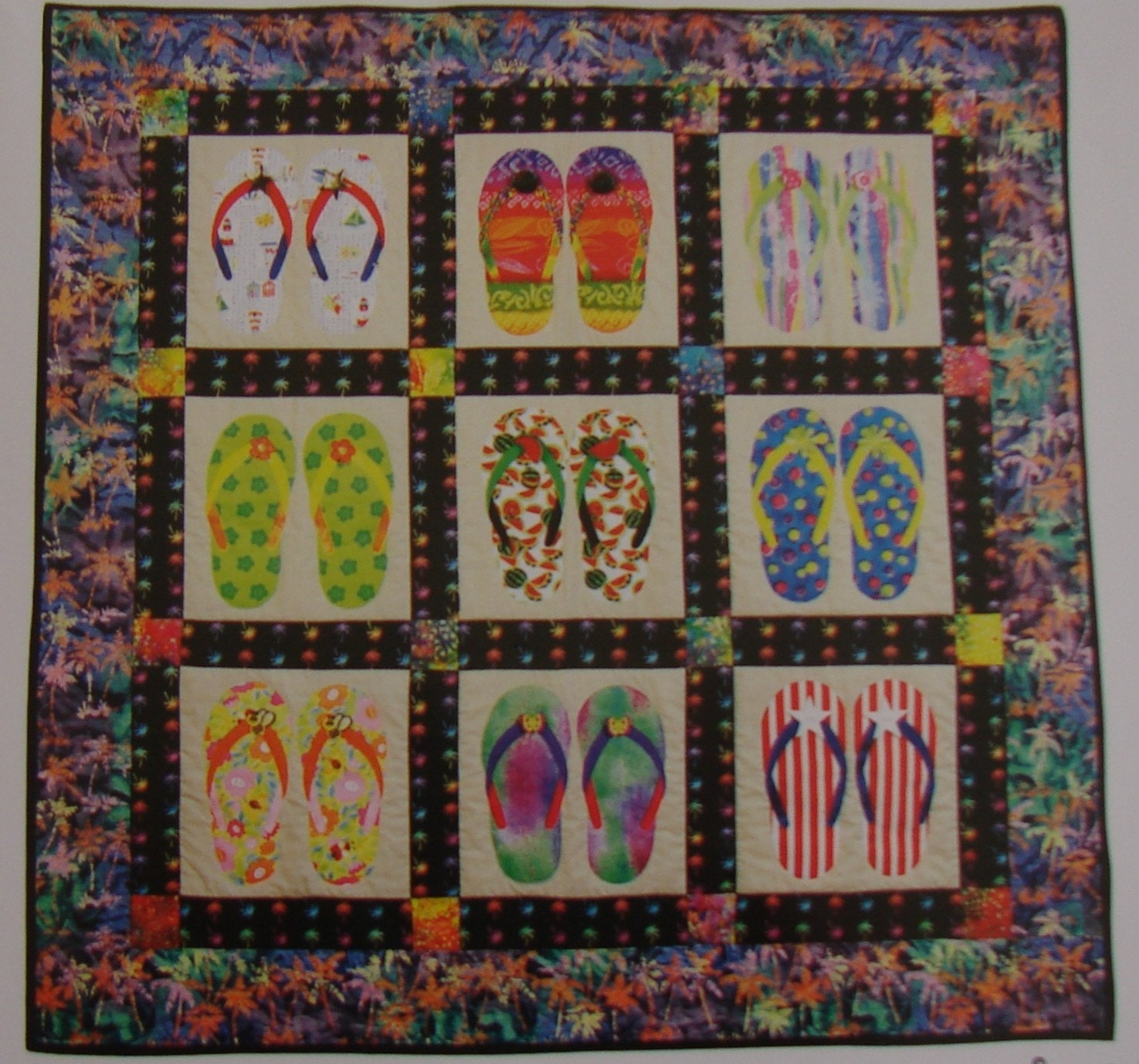 Slippah S Flip Flop Quilt Pattern Free Shipping By Susiquilts