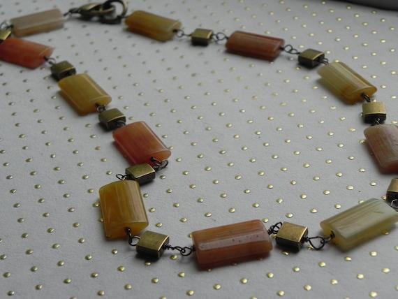 Ambrosia and Honey Necklace