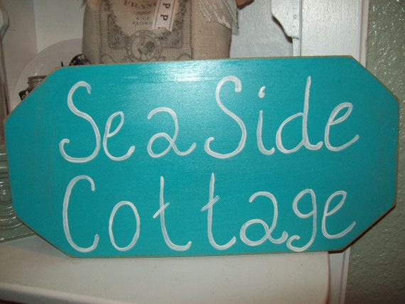 Items Similar To Shabby Chic Beach Decor Seaside Cottage