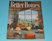 Vintage July 1954 Better Homes and Gardens Magazine-Collectible-Art-Scrapbooking-Vintage Ads