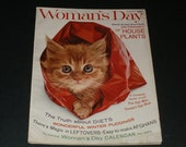 Vintage Womans Day Magazine January1963-Art-Scrapbooking-Vintage Ads-Collectible