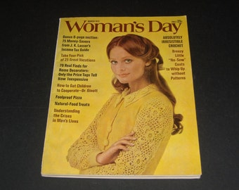 Vintage Womans Day March 1972-Collectible-Cool Vintage Ads-Scrapbooking