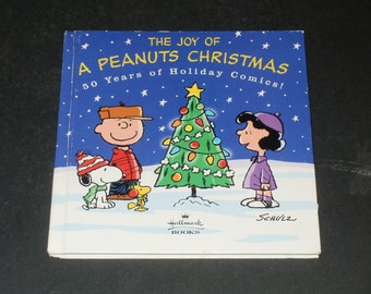 A Peanuts Christmas Book-Art-Crafts-Collectible-Comic Strip