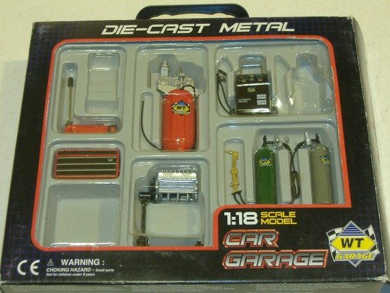 Miniature 1 18 Scale Garage Tools Partial Set Diorama Garage