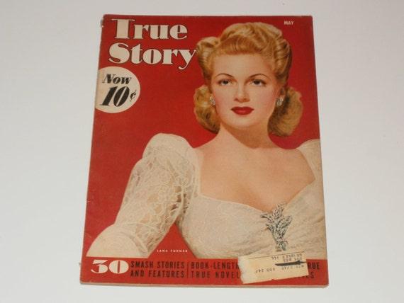 Vintage True Story May 1942 Magazine-Art Scrapbooking Vintage World War 2 Era Ads Paper Ephemera