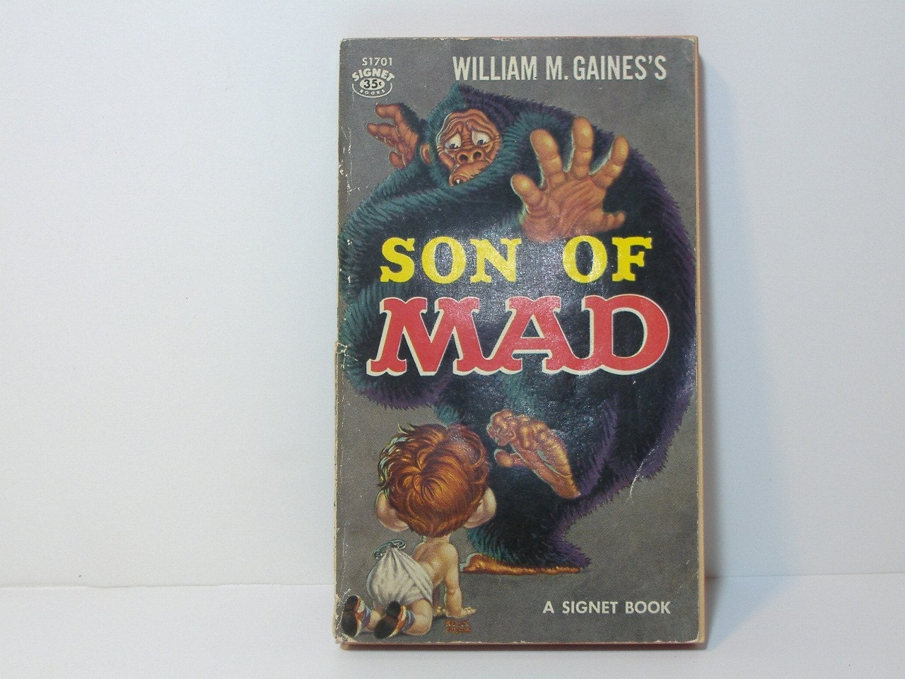 Son Of Mad Paperback By William M. Gaines 1959! In VG Condition!