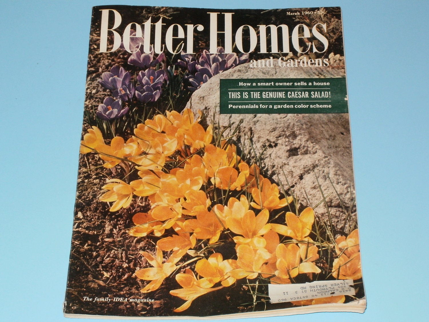 Vintage Better Homes And Gardens Magazines March By