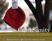 CraftSanity Magazine Issue 1 Print Edition
