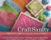 CraftSanity Magazine Issue 6 Print Edition