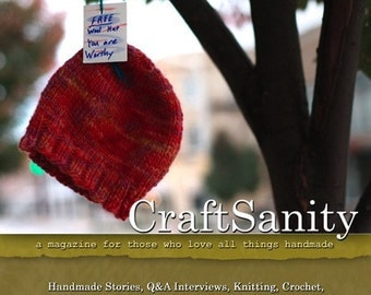 CraftSanity Magazine Issue 1 Print Edition