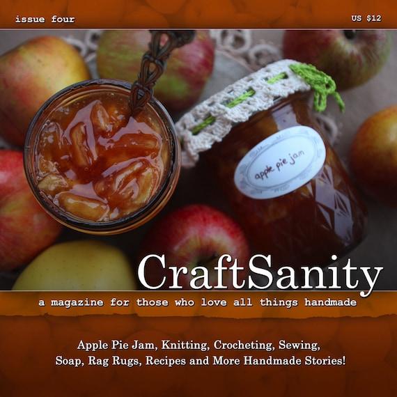 SALE! CraftSanity Magazine Issue 4 Print Edition