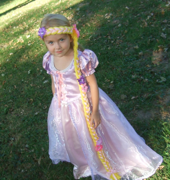 Reserved listing for chantry01....Rapunzel Princess Hair piece Wig by Two Sugar Peas