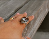 glass crystal ring