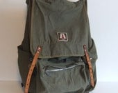 Vintage A Line Camping Backpack by Academy