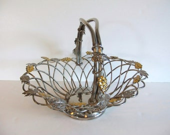 Vintage Basket, Godinger Silver Art Basket