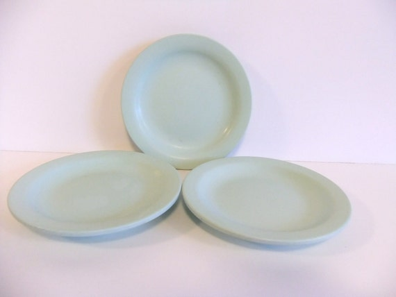 Green Melmac Boontonware Plates