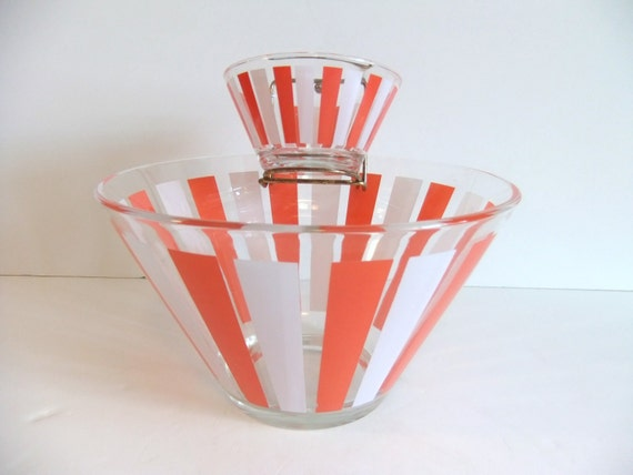 Vintage Chip and Dip Bowl