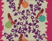 SALE Fuchsia Perch 2010 Echino half yard