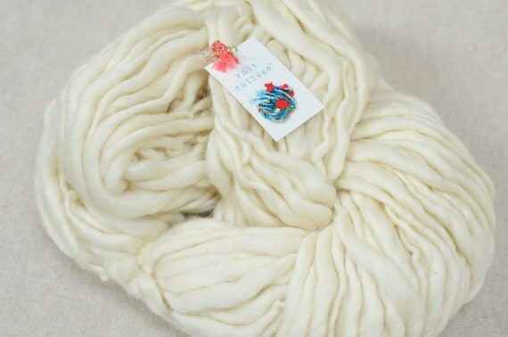 Knit Collage Sister Soft Ivory Yarn