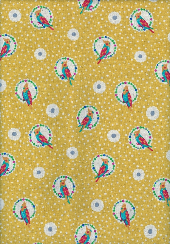 ECHINO - Fall 2011 - Cockatiel - Yellow - Half Yard