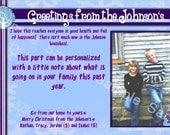 4x6 Greetings from- Christmas Card- DIGITAL