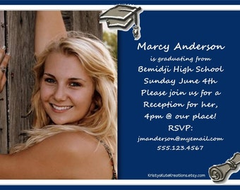 Graduation Announcements-Fully Customizable