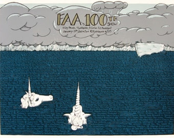 FAA's 100th Show gigposter for Fredericksburg All Ages