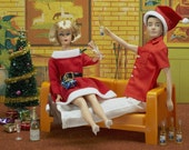 Barbie and Ken Christmas 8 x 12 Fine Art Photograph