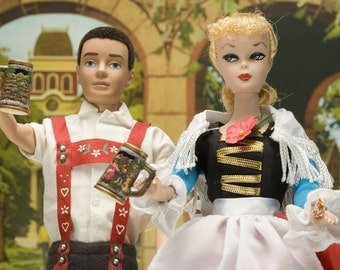 Oktoberfest Barbie Fine Art Photograph
