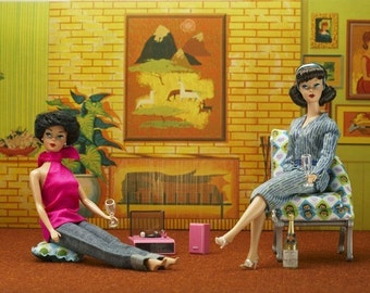 Barbie Lounge 8 x 12 Fine Art Photograph