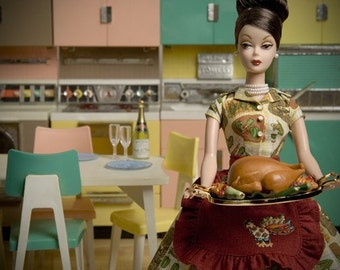 Thanksgiving Barbie Fine Art Photograph