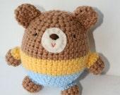 Rolly polly Teddy Bear Rattle